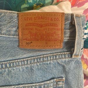 Levi's shorts size 31